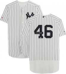 Andy Pettitte New York Yankees Autographed Authentic Home Jersey