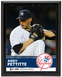 Andy Pettitte New York Yankees Sublimated 10.5'' x 13'' Plaque - Mounted Memories