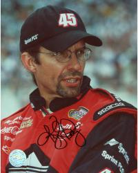 Kyle Petty Autographed 8'' x 10'' Sprint PCS Head Shot Photograph