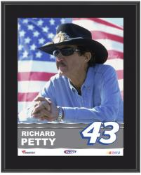 "Richard Petty Sublimated 10.5"" x 13"" Plaque - Mounted Memories"
