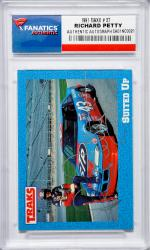 Richard Petty Autographed 1991 Maxx #37 Card - Mounted Memories
