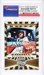 Richard Petty Autographed 2013 P.P. Fanfare #92 Card - Mounted Memories