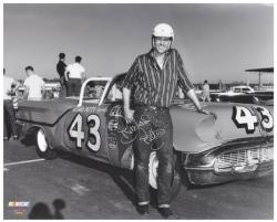 "Richard Petty Autographed 16"" x 20"" Photograph"