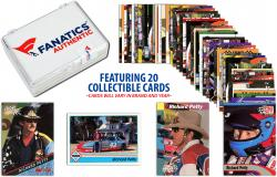 Richard Petty Collectible Lot of 20 NASCAR Trading Cards - Mounted Memories