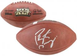 Peyton Manning Super Bowl XLI Autographed Pro Football