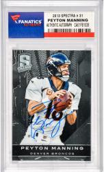 Peyton Manning Denver Broncos Autographed 2013 Spectra #31Card