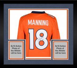 Peyton Manning Denver Broncos Autographed Nike Jersey - Mounted Memories