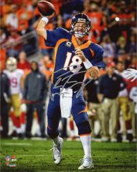 "Peyton Manning Denver Broncos Becomes NFL All-Time Touchdown Passing Record Leader Autographed 8"" X 10"" Photograph"