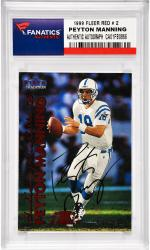 Peyton Manning Indianapolis Colts Autographed 1999 Fleer #2 Card