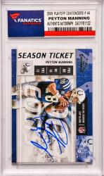Peyton Manning Indianapolis Colts Autographed 2009 Playoff Contenders #44 Card