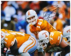 "Peyton Manning Tennessee Volunteers Autographed 16"" x 20"" Line Photograph"