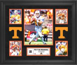 Peyton Manning Tennessee Volunteers Framed 5-Photo Collage