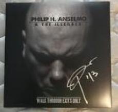 Phil Anselmo & The Illegals Pantera Down Signed Autographed Album Lp Proof