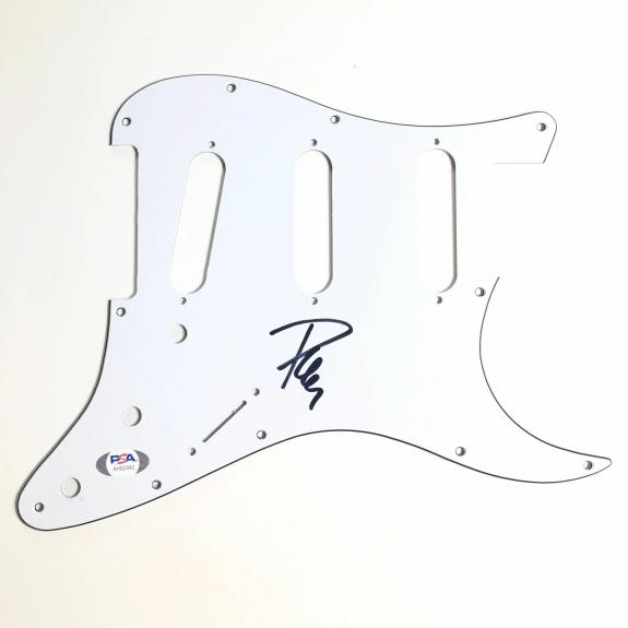Phil Collen signed pickguard PSA/DNA Def Leppard autographed