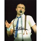 Phil Collins Autographed 8x10 Photo