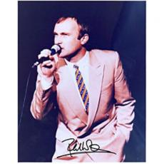 Phil Collins Autographed Celebrity 8x10 Photo