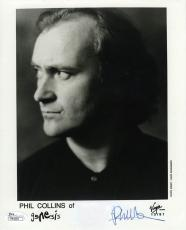 Phil Collins Genesis Autographed Signed 8x10 Photo Certified Authentic JSA COA