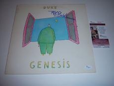 Phil Collins Genesis,duke Jsa/coa Signed Lp Record Album