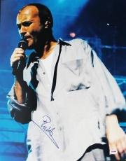 Signed Phil Collins Photo - 16x20 Psa dna #u70492