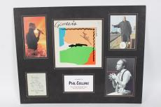 "Phil Collins Signed ""First Final Fareweel Tour "" August 28th,04 MGM Las Vegas Display"