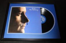 Phil Collins Signed Framed 1982 Hello I Must Be Going Record Album Display