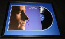 Phil Collins Signed Framed 1982 Hello I Must Be Going Record Album Display B