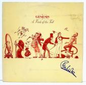 "PHIL COLLINS Signed GENESIS ""A Trick Of The Trail"" Album LP PSA/DNA #Y63762"