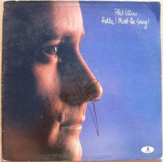 Phil Collins signed LP Album Cover Hello, I Must Be Going! BAS Beckett Authentic