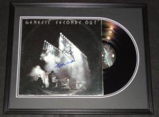 Phil Collins & Steve Hackett Signed Framed Genesis 1977 Seconds Out Record Album