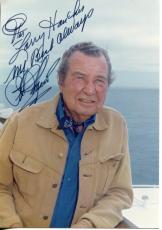 Phil Harris (walt Disney Voices) The Jungle Book & More Signed Photo Autograph