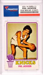 Phil Jackson New York Knicks 1973-74 Topps #71 Card