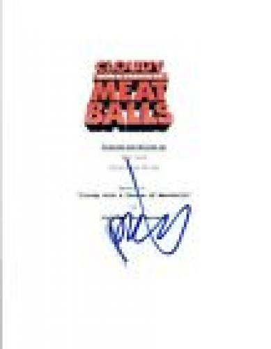 Phil Lord Signed Autograph CLOUDY WITH A CHANCE OF MEATBALLS Full Script COA VD