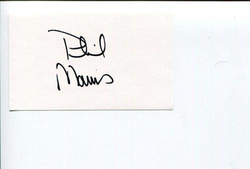 Phil Morris Smallville Seinfeld Star Trek Atlantis Lost Empire Signed Autograph