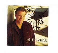 Phil Vassar-signed CD Cover