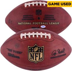 Philadelphia Eagles Game-Used Football from Fourth Quarter LeSean McCoy 1-Yard Run and Mark Sanchez Pass December 7, 2014 vs. Seattle Seahawks