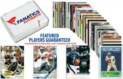 Philadelphia Eagles Team Trading Card Block/50 Card Lot - Mounted Memories