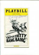 Philip Bosco Chitty Chitty Bang Bang Broadway Play Signed Autograph Playbill