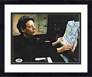 Philip Glass American Legendary Composer Signed 8x10 Auto Photo PSA/DNA (A)