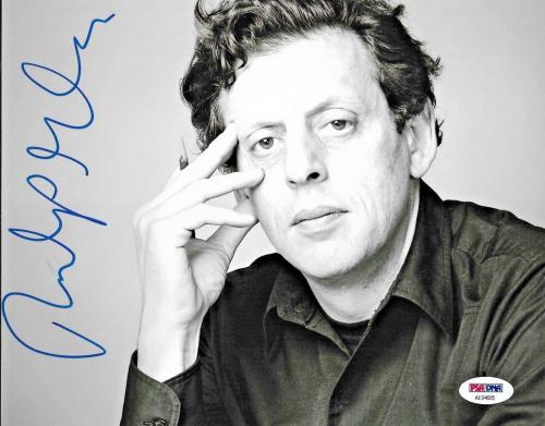 Philip Glass American Legendary Composer Signed 8x10 Auto Photo PSA/DNA (C)