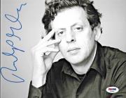 Philip Glass American Legendary Composer Signed 8x10 Auto Photo PSA/DNA (C)
