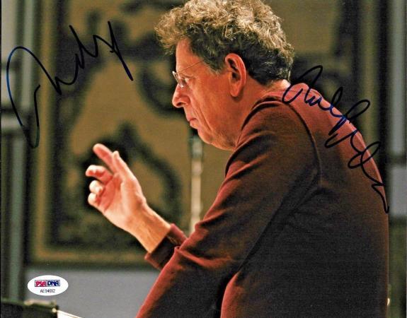 Philip Glass American Legendary Composer Signed 8x10 Auto Photo PSA/DNA (F)