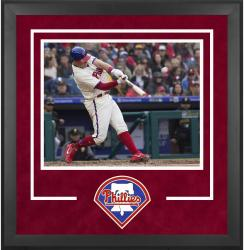 "Philadelphia Phillies Deluxe 16"" x 20"" Horizontal Photograph Frame - Mounted Memories"