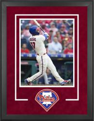 "Philadelphia Phillies Deluxe 16"" x 20"" Vertical Photograph Frame - Mounted Memories"
