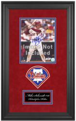 "Philadelphia Phillies Deluxe 8"" x 10"" Team Logo Frame - Mounted Memories"
