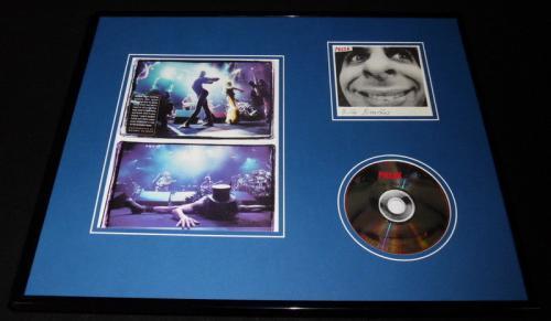 Phish 16x20 Framed Billy Breathes CD & Photo Display