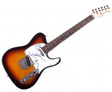 Phish Autographed Signed Tele Guitar AFTAL UACC RD COA