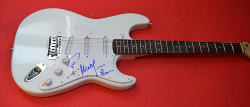Phish Band Signed Autographed Electric Guitar Trey Anastasio Mike Page Proof 1c