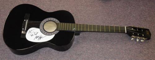 Phish Group Signed Full Size Acoustic Guitar JSA Trey Anastasio Gordon McConnell