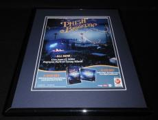 Phish Live in Brooklyn 2006 Framed 11x14 ORIGINAL Vintage Advertisement