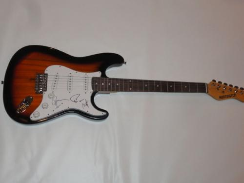 Phish Signed Sunburst Electric Guitar Trey Anastasio Mike Gordon Page Jsa Coa